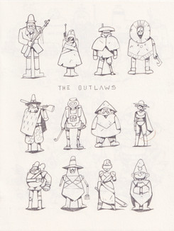 Inktober 2020 Outlaws