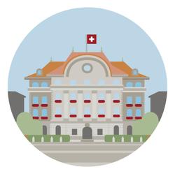 EKSH SNB, Daniel Harisberger illustration Bern
