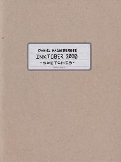 Inktober 2020 Sketchbook
