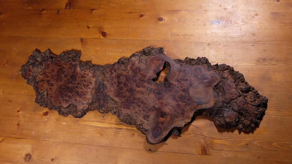 Burr elm natural edge charcuterie board