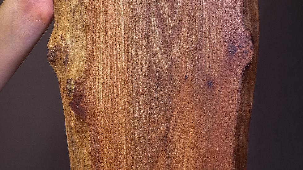 Elm charcuterie board, natural edge