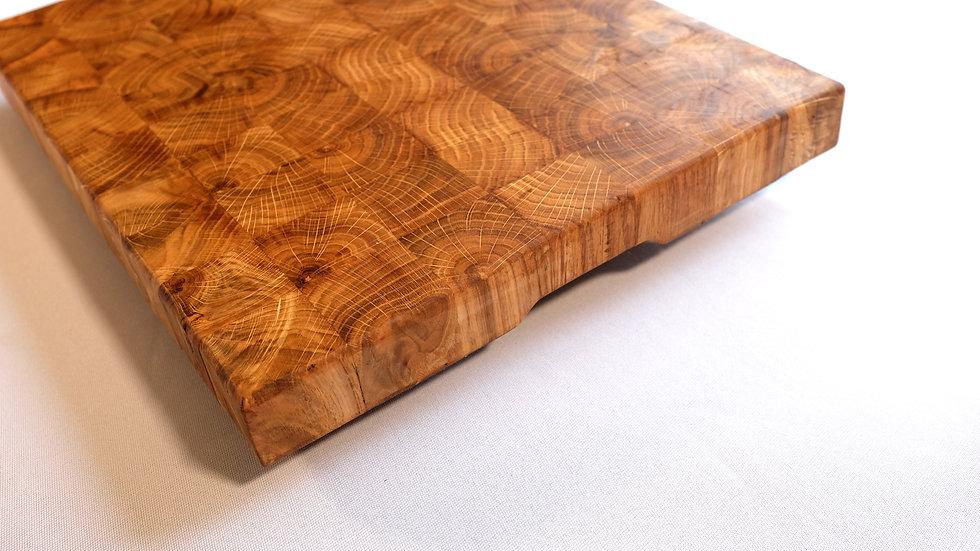 Oak end grain butchers block