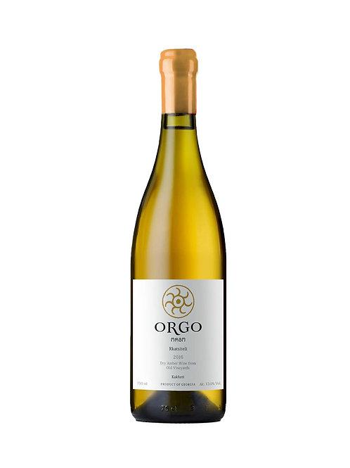 Orgo Rkatsiteli Amber Wine (75cl)
