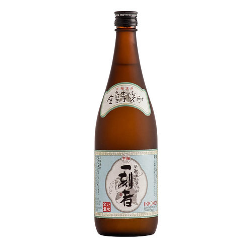 "Takara ""Ikkomon"" Imo 100% Sweet Potato Honkaku Shochu 25% 全量芋焼酎「一刻者(いっこもん)」"