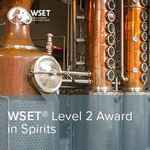 WSET烈酒第二級證書課程(線上授課)