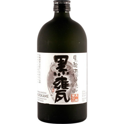 "Takara ""Kurokame"" Imo Honkaku Sweet Potato Shochu 25% 720ml 本格 芋焼酎 「黒甕」"