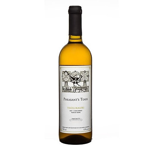 Pheasant's Tears Tsolikouri Qvevri White Wine (75cl)