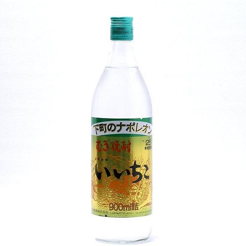 Iichiko Mugi Barley Shochu 900ml 25% 麦焼酎 いいちこ