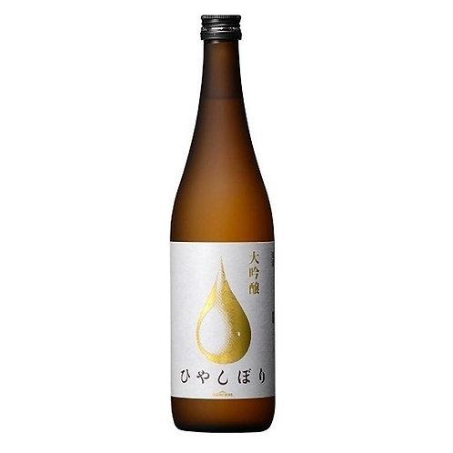 """Konishi Hiyashibori """"Konishi Gold"""" Daiginjo 小西酒造 大吟醸 ひやしぼり"""