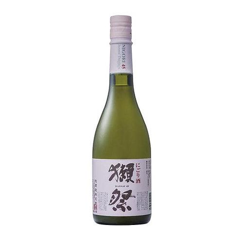 Dassai 45 Junmai Daiginjo Nigori Saké 獺祭 にごり 純米大吟醸 45