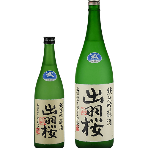 """Dewazakura """"Dewasansan"""" Junmai Ginjo 出羽桜 出羽燦々 純米吟醸酒"""