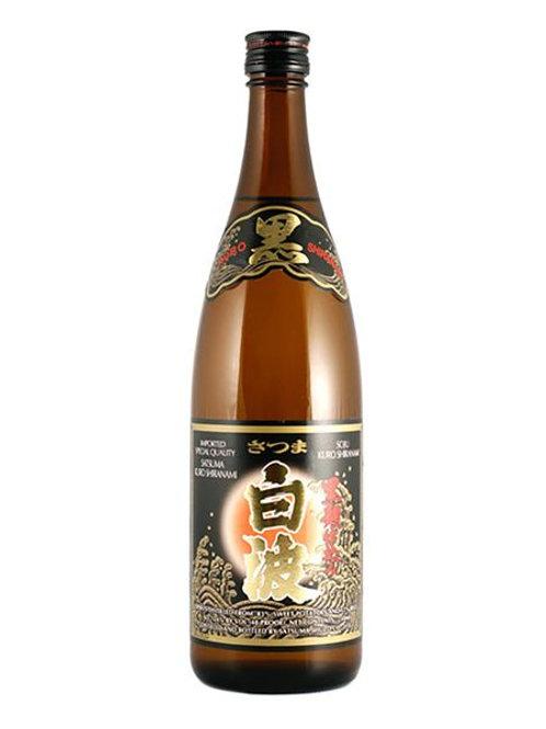 Satsuma Shiranami Kuro-Koji Imo Sweet Potato Shochu 25% 900ml さつま白波黒麹仕込み 芋焼酎