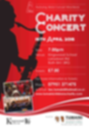 Tumaini Charity Concert Poster