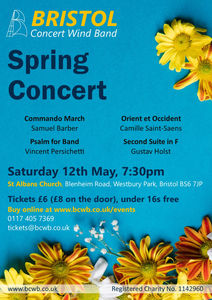 Buy Tickets for BCWB's Spring Concert