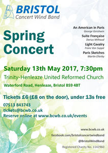 Tickets Available for BCWB Spring Concert