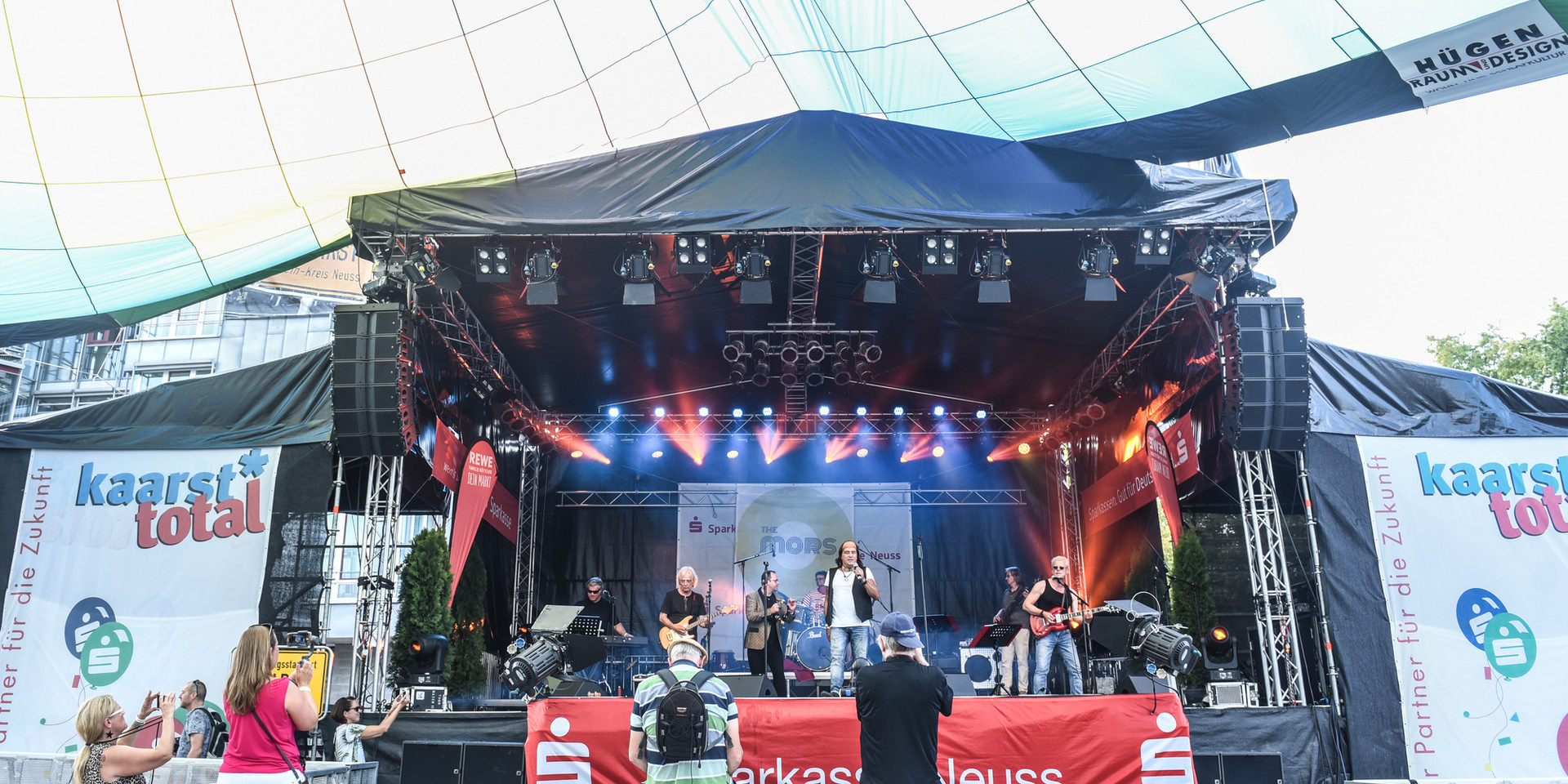 The MORS live bei Kaarst total 2019