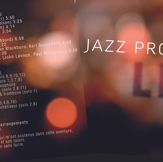 29 - Jacquette Jazz Project - Gilles Zab