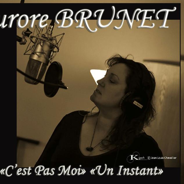 33 - CD 2 titres - Aurore BRUNET - TEBOU
