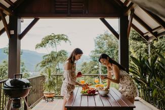 Sky Villa Dining area