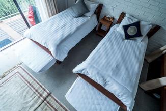 Sky Villa Sleeping arrangement