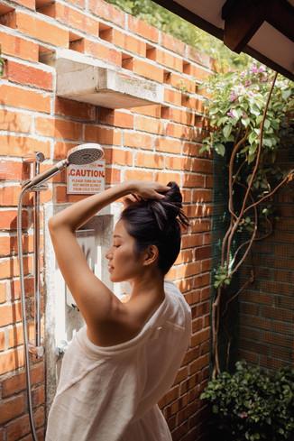 Sky Villa Outdoor shower