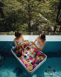 Floating Breakfast couple .JPG