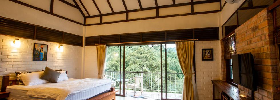 Master Bedroom at Sky Villa