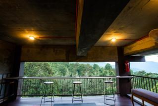 Sky Villa Bar area