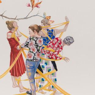 The Arrangement (detail) - Susanne Kerr