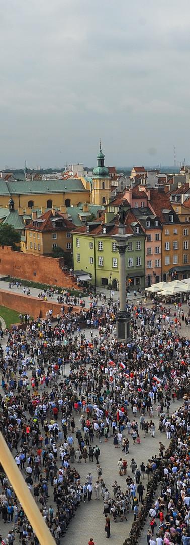 Żywy Znak dla Powstania Warszawskiego 2014