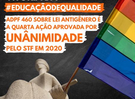STF reforça constitucionalidade da abordagem de gênero em escolas