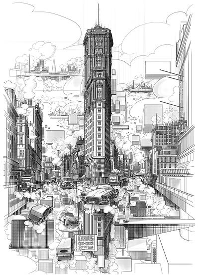 Times Square Manhatan , NY 1930