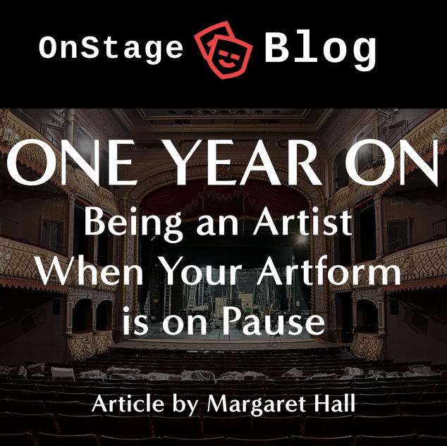 OnStage Blog: One Year On