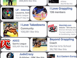Fourteen of the best Judo & BJJ Facebook Groups/Pages