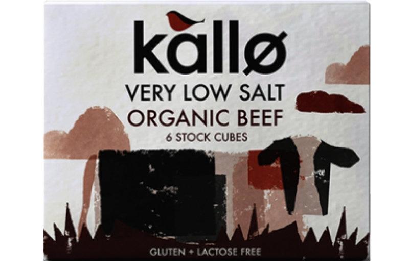 Kallo Very Low Salt Beef Stock Cubes