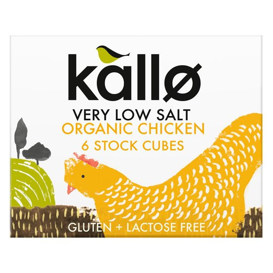 Kallo Very Low Salt Chicken Stock Cubes