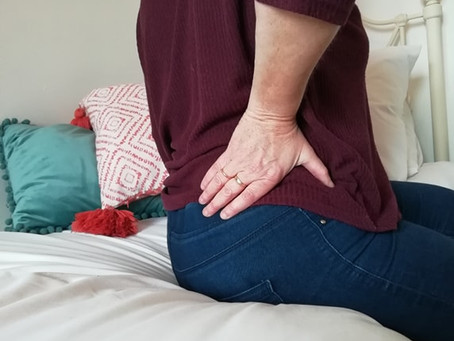 It's 'Back' Again! .....Advice and Exercises for lower back pain