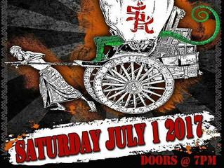 Sat. July 1.  Saigon Kick w/Wall of Soul