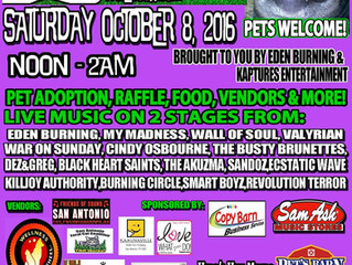 Rock 4 Paws - Saturday, October 8th