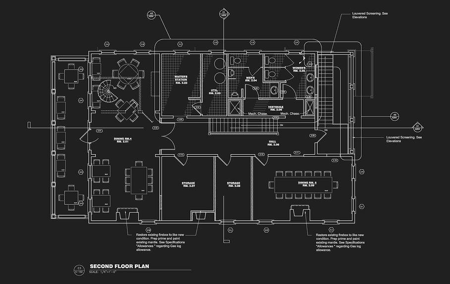 CHARLESTON SC RESTAURANT ARCHITECTS