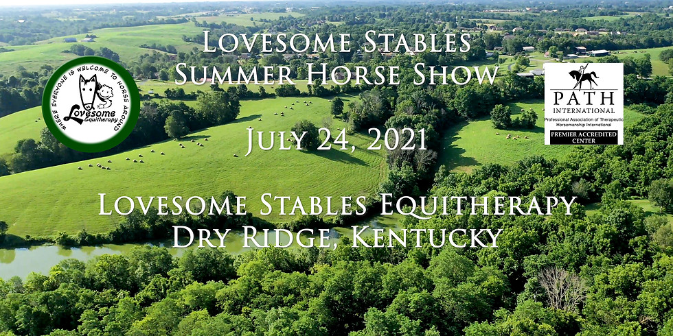 Lovesome Stables Summer Horse Show