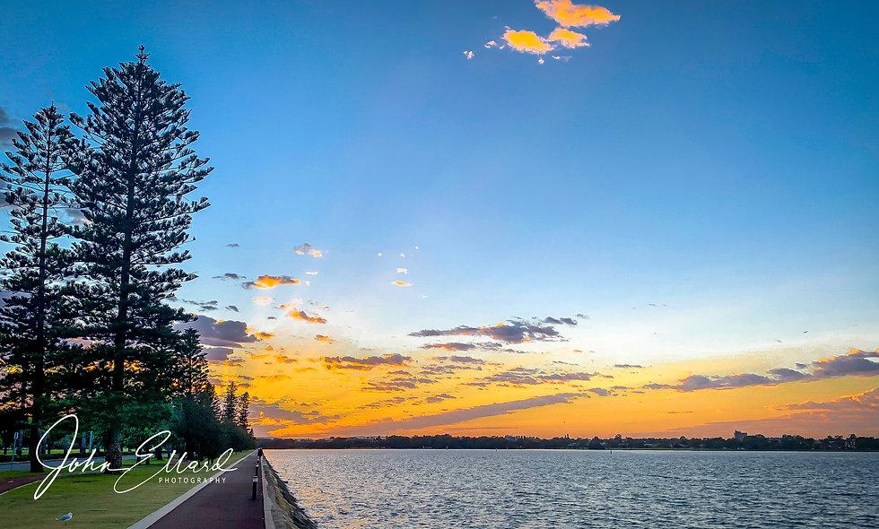 Sunrise in Perth, Australia