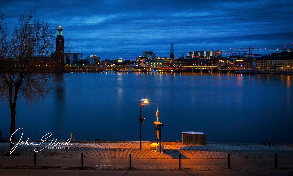 Stockholm pre-dawn