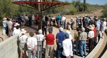 Desert Awareness Park in Cave Creek Earth Weaving Ceremony.jpg