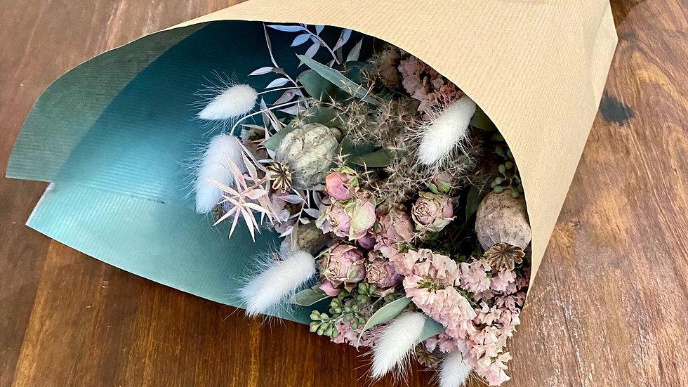 Saint-Valentin 1 : Bouquet de fleurs séchées