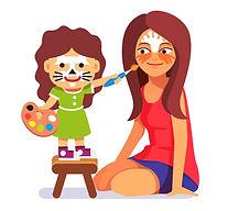 סדנאות איפור והפעלות לילדים