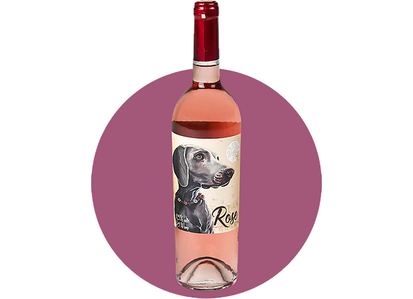 Dog Smile Wine Розе