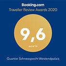 Auszeichung Booking.com
