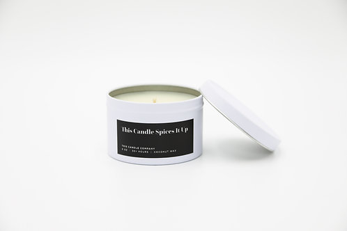 This Candle Spices It Up - Orange Peel, Sandalwood, Patchouli