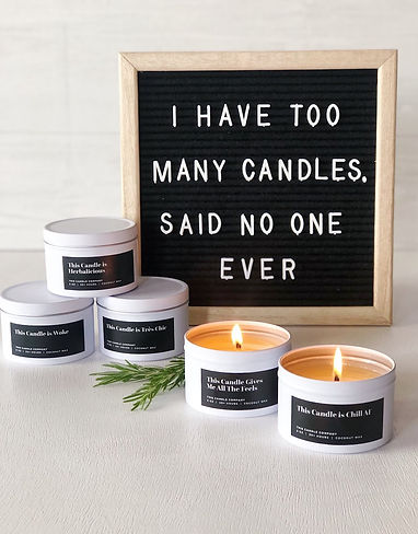 I have too many candles said no one ever